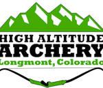 High Altitude Archery Longmont, CO Logo